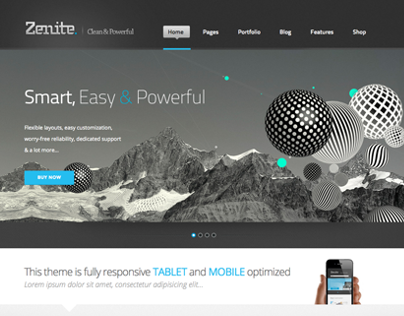 Zenite Wordpress Theme