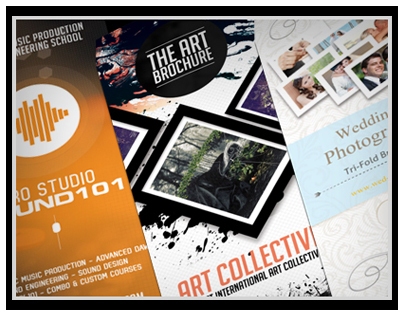 Pro Brochure Bundle - Music, Photo, Art Edition