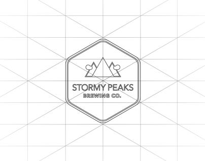Stormy Peaks Brewing Company Logo