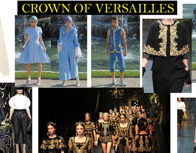 Versailles-Inspired Womens Contemporary Fashion