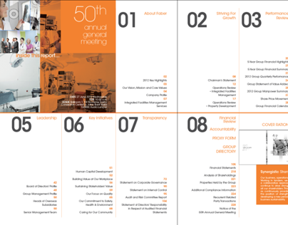 Faber Group Berhad Annual Report // Visual