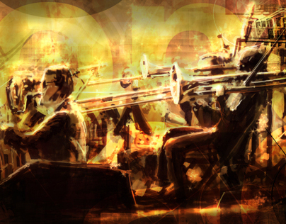 Big Band Illustration