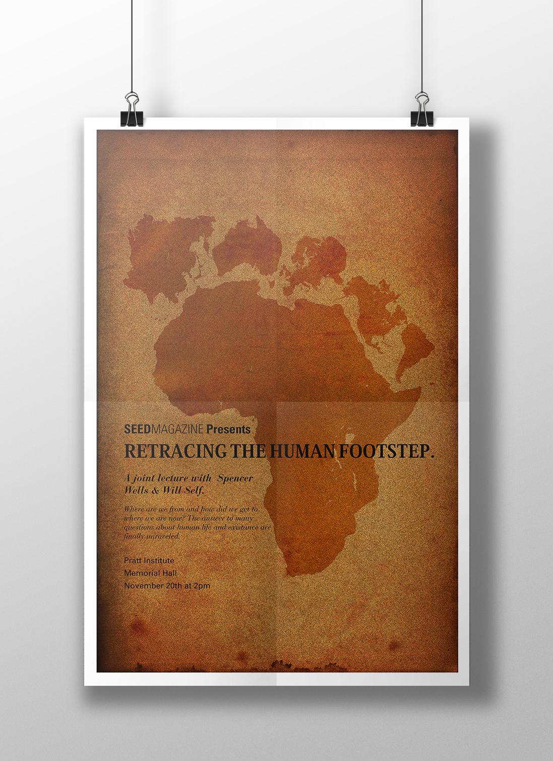 RETRACING THE HUMAN FOOTSTEP