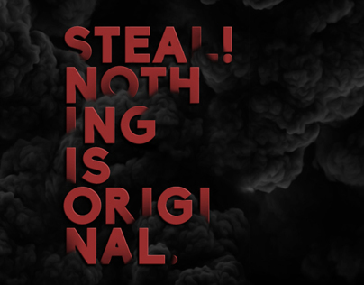 Nothing is Original - Wallpaper