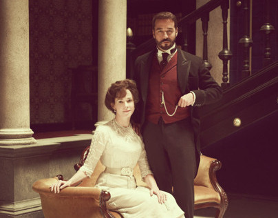 Mr. Selfridge cast for Vanity Fair by Jason Bell