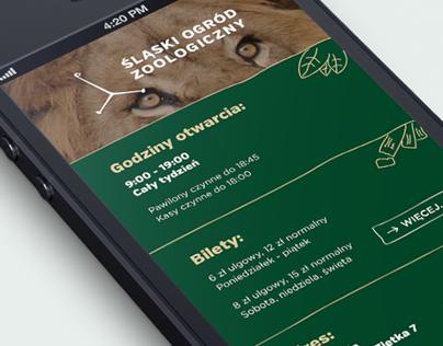 Silesian Zoo - redesign concept