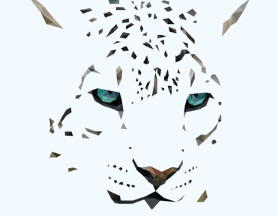 Poly Snow Leopard