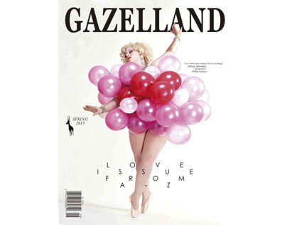 GAZELLAND MAG- LOVE ISSUE