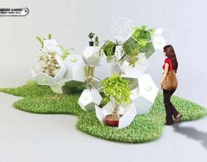 Time Capsule Vertical Garden