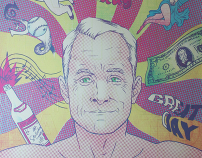 Mad Men / Roger Sterling Print