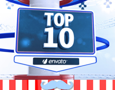 Broadcast Top 10 Package // VideoHive