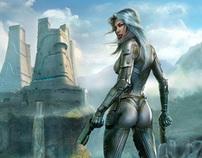 EARTHRISE MMORPG artworks