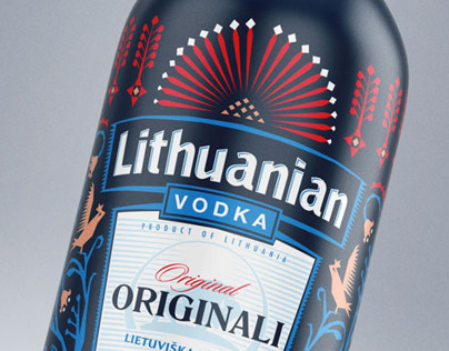 Lithuanian Vodka / Easter Limited Edition 13