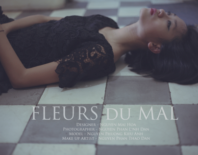 Fashion Photography - Fleurs du Mal