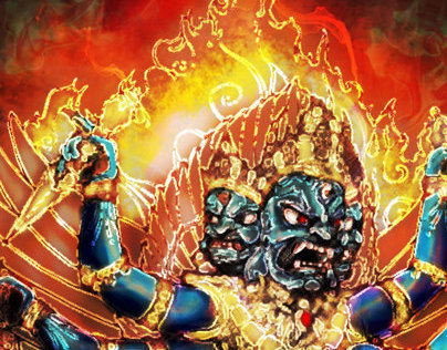 भैराद्य: Bhairav Dragon Ball Style