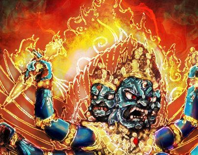 भैराद्य: Bhairav Dragon Ball Style