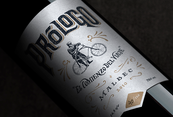 Prólogo wine label