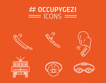 OCCUPYGEZI ICONS