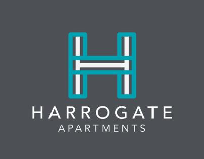 Harrogate Apartments Branding