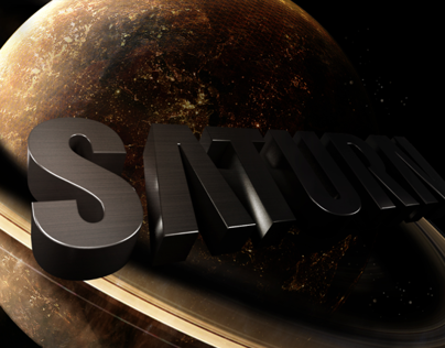 Saturn - Logo Animation