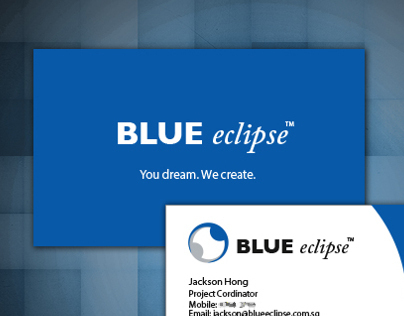 Blue Eclipse - Logo & Namecard Design (Internship)