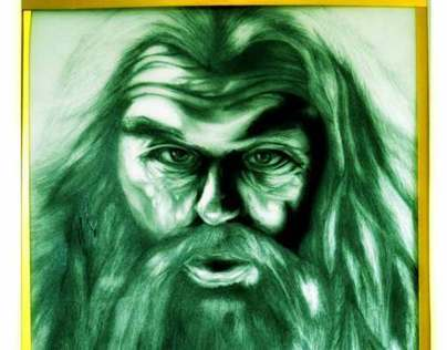 A Sketch by me form the movie Lord of the rings