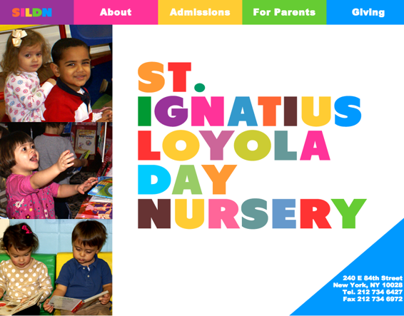 Website for Upper East Side Day Nursery