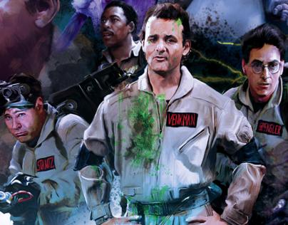 Alternative Movie Poster Ghostbusters