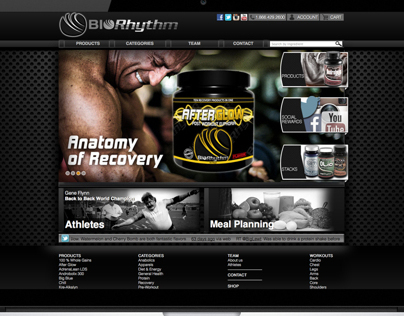 Website for Biorhythm.us