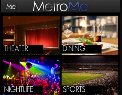 Metro Me Mobile App Design (In progress)