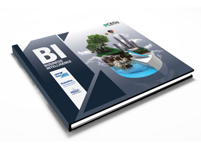 Business Intelligence Booklet Cover Design