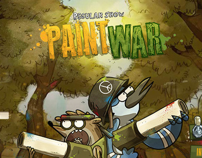 PAINTWAR. Cartoon Network - Regular Show