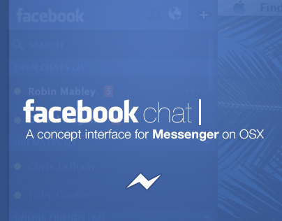 Facebook Messenger Desktop Concept