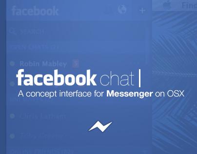 Facebook Messenger Desktop Concept