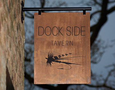 Dockside Tavern Identity