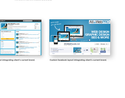 All In Web Pro: Social Media Design