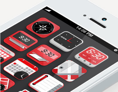 Halliburton - Icons for Iphone