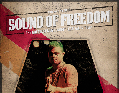 Sound of Freedom Flyer / Poster