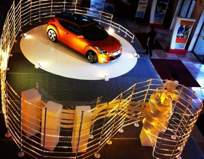 Hyundai Veloster Creative Display Contest, 2012