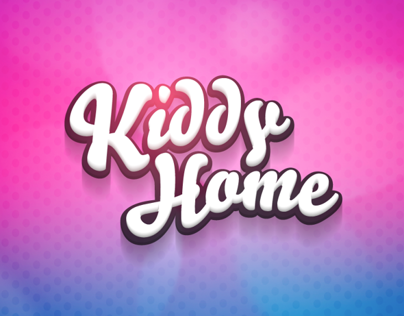 New icon design - Kiddy Home