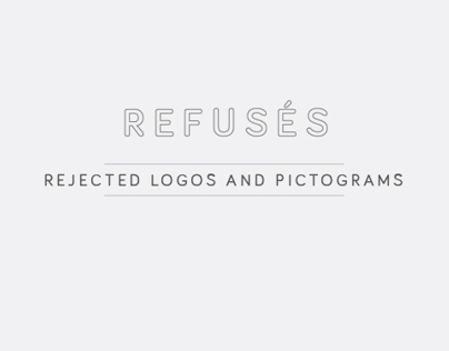 REFUSÉS - repudiated logos