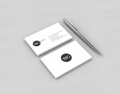 MG Marketing Solutions Logo & Business Card