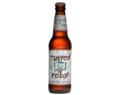 Rusted Robot - Beer Packaging