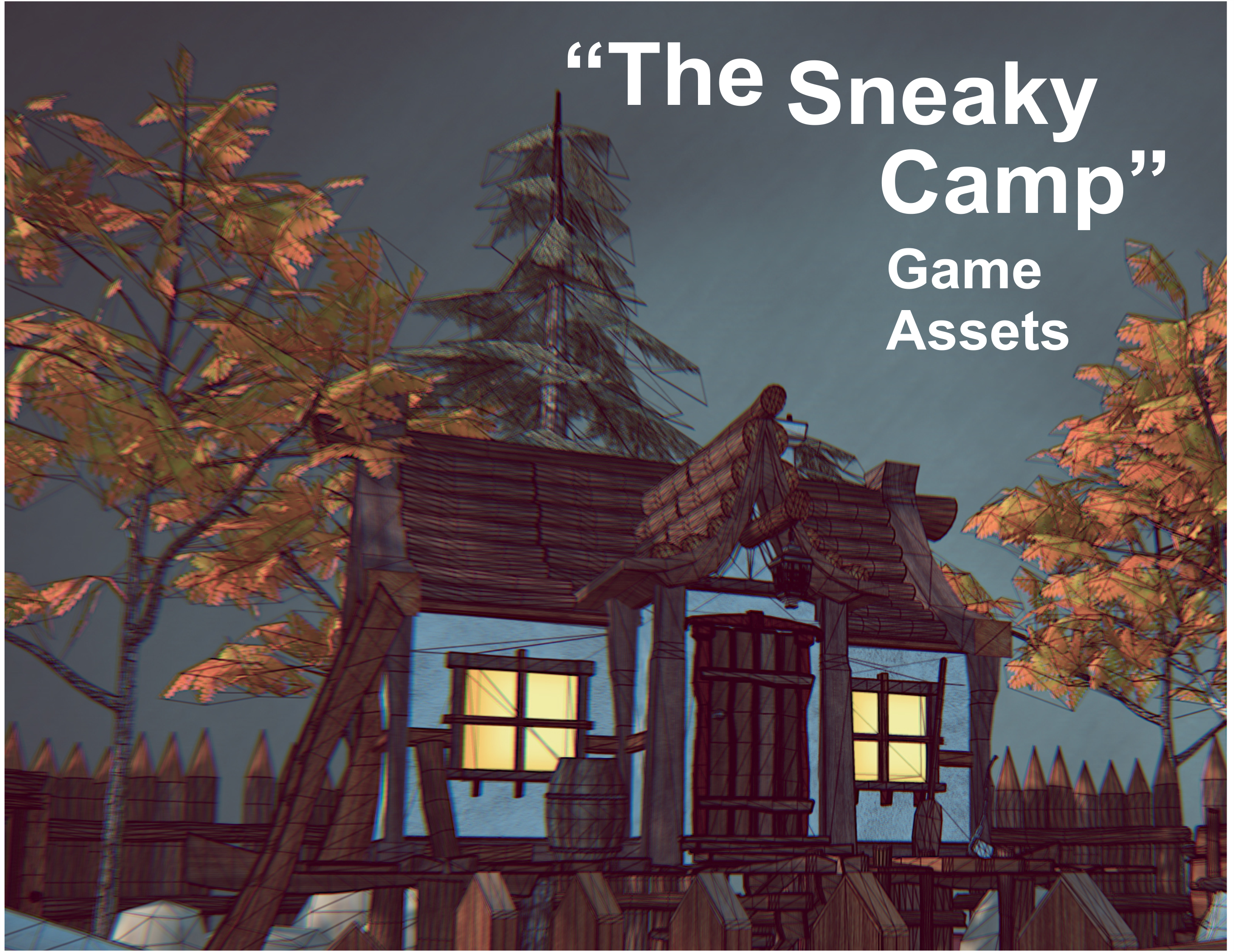 "Game Assets ""The Sneaky Camp"""