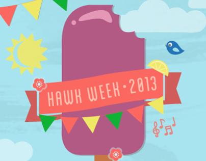 Hawk Week Poster