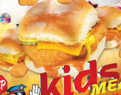 Kids Meal Burger stop