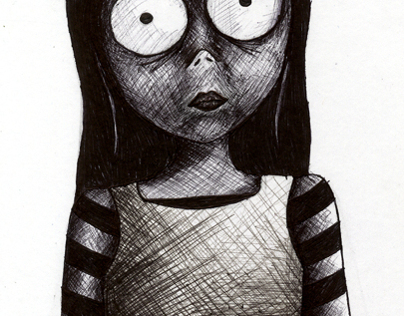 Creepy illustrations