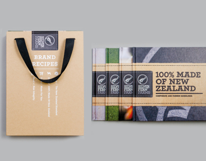 Silver Fern Farms brand book