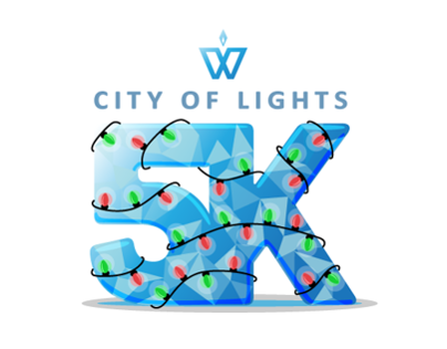 City of Lights 5K Logo