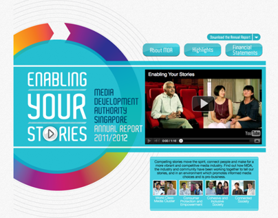 Enabling your Stories - MDA AR2011/2012